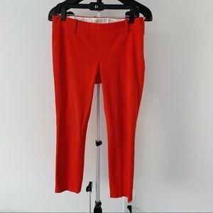 J. CREW Minnie Red Pants • 4